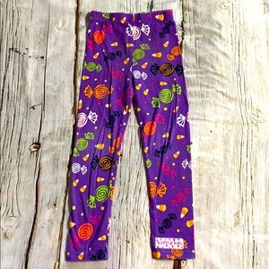 Ruffle Girl Halloween Candy Pants